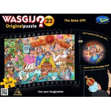 1000 pc Wasgij Puzzle Original #23 The Bake Off INCLUDES FREE PUZZLE-A-ROUND
