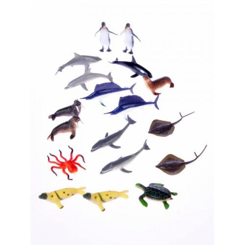 Nature Tube of Animals Aquatic - Wild Republic