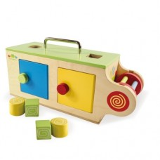 Baby Activity Box - Wooden - Mamagenius