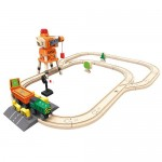 Train - Crane and Cargo Set - Hape