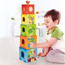 Friendship Tower Stacking Boxes - Hape