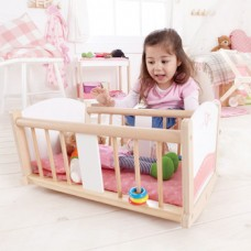 Dolls Rocking Cradle - Hape