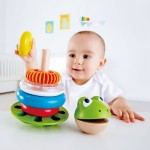 Stacking Rings Mr Frog - Hape
