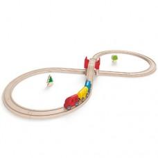 Train - Figure 8 Wooden Train Set - Hape
