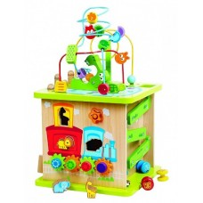 Activity Centre Cube - Wild Safari - Hape  AVAILABLE OCTOBER
