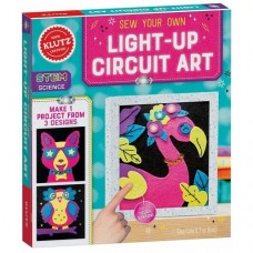 Sew Your Own Light-Up Circuit Art - Klutz