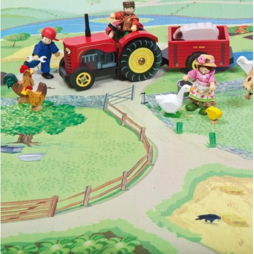 Farm Play Mat Le Toy Van From Who What Why