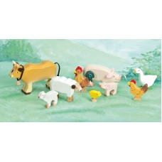 Farm Animal Set Wooden - Le Toy Van