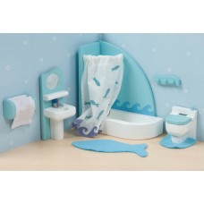 Dolls House Furniture - Sugar Plum Bathroom - Le Toy Van
