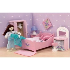 Dolls House Furniture - Sugar Plum Bedroom - Le Toy Van