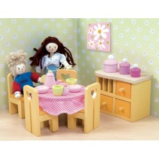 Dolls House Furniture - Sugar Plum Dining Room - Le Toy Van