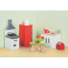 Dolls House Furniture - Sugar Plum Kitchen - Le Toy Van