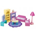 Dolls House Furniture - Sugar Plum Lounge / Sitting Room - Le Toy Van