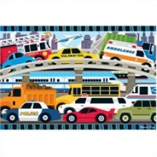 24 pc Melissa & Doug - Traffic Jam Floor Puzzle
