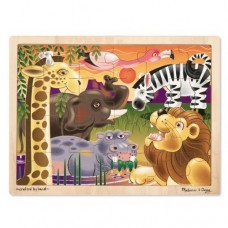 24 pc Melissa & Doug - African Plains Wooden Puzzle