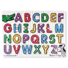 26 pc Melissa & Doug  - Alphabet Puzzle