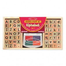 Stamp Set - Alphabet  - Melissa & Doug