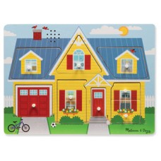 8 pc Melissa & Doug - Around the House Sound Puzzle
