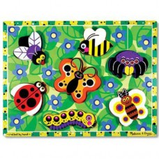 7 pc Melissa & Doug - Insects Chunky Puzzle