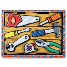 7 pc Melissa & Doug - Tools Chunky Puzzle