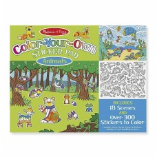 Stickers Color Your Own - Animals - Melissa & Doug