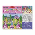 Stickers Color Your Own - Dress Up - Melissa & Doug