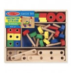 Construction Building Set Wooden - Melissa & Doug