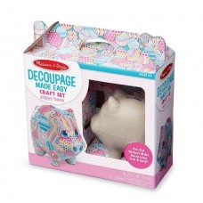 Decoupage Made Easy - Piggy Bank - Melissa & Doug