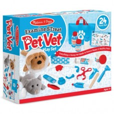 Examine & Treat Pet Vet Play Set - Melissa & Doug