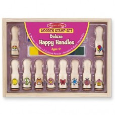 Stamp Set - Happy Handle Deluxe  - Melissa & Doug *