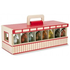 Horse Stable Wooden - Melissa & Doug *