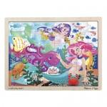 48 pc Melissa & Doug - Mermaid Fantasea Puzzle