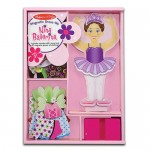 Magnetic Dress Up - Nina Ballerina  - Melissa & Doug