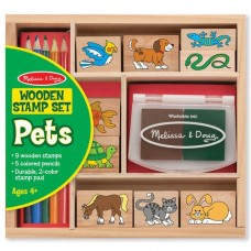 Stamp Set - Pets - Melissa & Doug