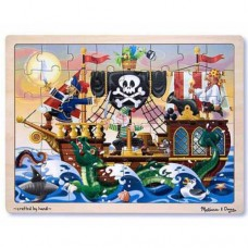 48 pc Melissa & Doug - Pirate Tray Puzzle