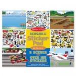 Stickers Reusable - Vehicles  - Melissa & Doug