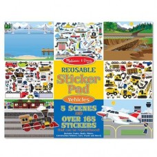 Stickers Reusable - Vehicles  - Melissa & Doug