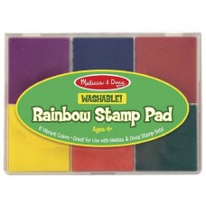 Rainbow 6 Coloured Stamp Pad - Melissa & Doug