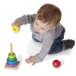 Rainbow Stacker - Wooden Toy - Melissa & Doug