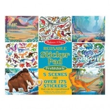 Stickers Reusable - Prehistoric  - Melissa & Doug
