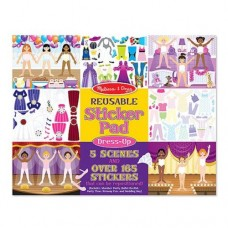 Stickers Reusable - Dress Up - Melissa & Doug