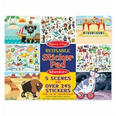 Stickers Reusable - Adventure - Melissa & Doug