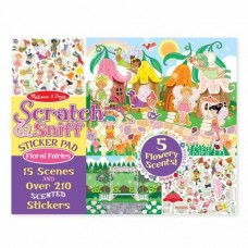 Stickers Scratch n Sniff Floral Fairies -  Melissa & Doug *