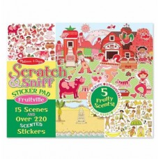 Stickers Scratch n Sniff Fruitville -  Melissa & Doug