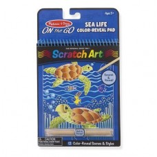 Scratch Art - Sea Life - Melissa & Doug