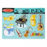 8 pc Melissa and Doug - Instruments Sound Puzzle