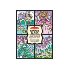 Stained Glass Colouring Pad Fairies - Melissa & Doug*