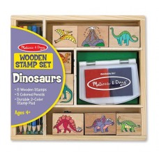Stamp Set - Dinosaurs - Melissa & Doug