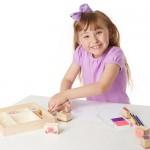Stamp Set - Friendship - Melissa & Doug BONUS Drawing Pad