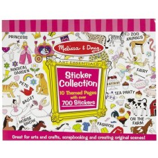 Sticker Collection  Girls - Melissa & Doug